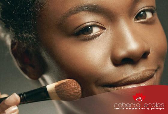 Cada tipo de pele tem suas características diferentes